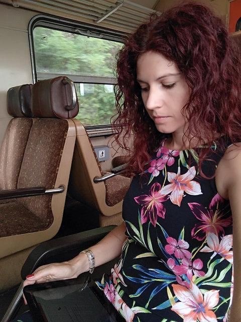 tanulás a vonaton